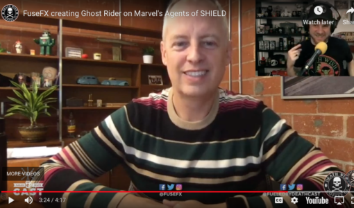 Podcast: Co-Founder/CDO Tim Jacobsen on his career, creating Ghost Rider at FuseFX and More!
